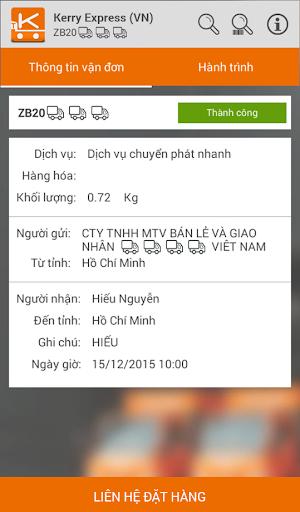 Tracking & Pricing (KEVN) screenshot
