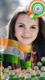 Indian Flag Profile Picture - náhled