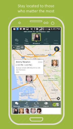 WhoMove - Free Family Locator