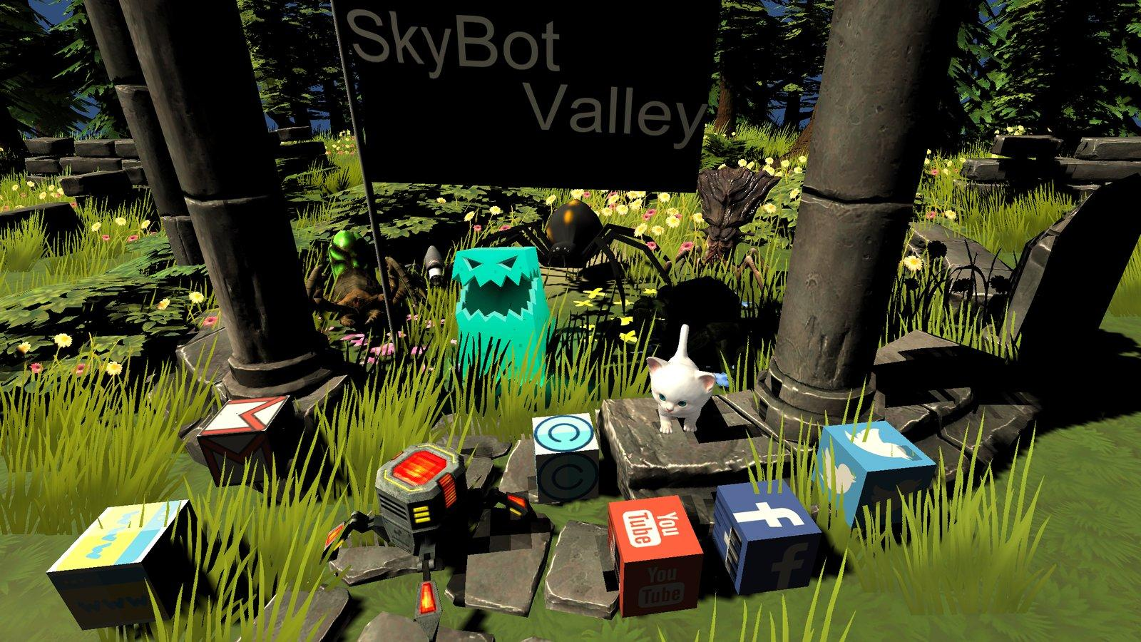 SkyBot Valley- screenshot