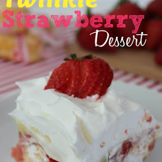 Twinkie Strawberry Dessert.