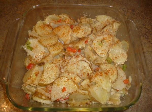 Microwave Parmesan Potatoes Recipe