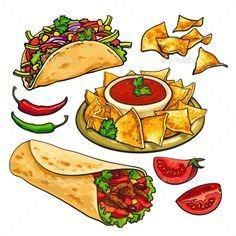Rainbow Food Factory menu 1
