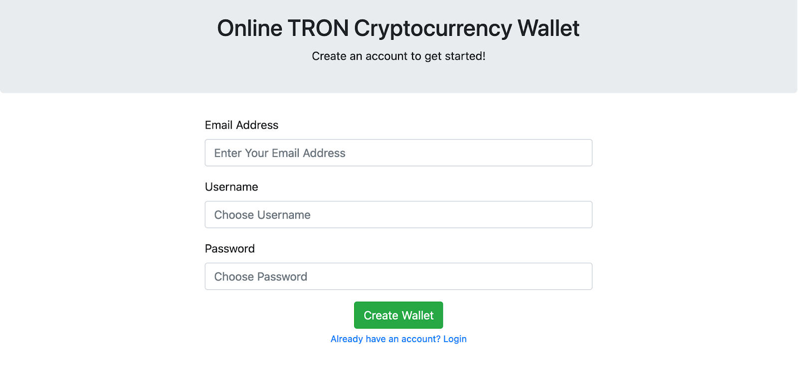Crypto Wallets Two Factor Authentication Setup