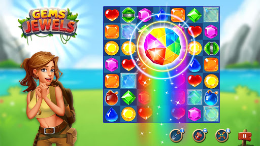 Jewel & Gem Blast - Match 3 Puzzle Game apktram screenshots 7