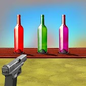 3D Bottle Shoot : Gun Shooting Games