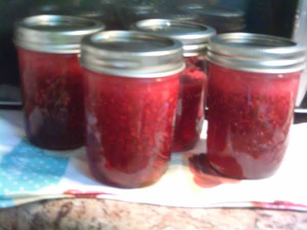 Grace123's Canned Raspberry Jam Easy Recipe