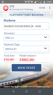 Book tatkal ticket irctc app