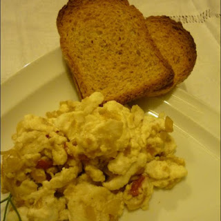 Scrambled Egg Whites with Peppers Recipe