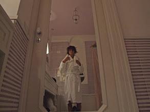 Photo: Und dann ist es endlich soweit: Ein Bad in der Whirlpool-Wanne, ...