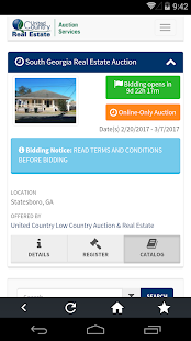 United Country Online Auctions- screenshot thumbnail