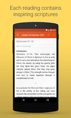 Daily Scriptures - screenshot
