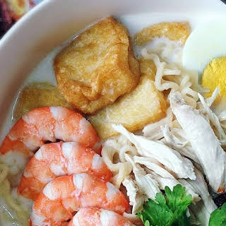 Penang White Curry Noodle.