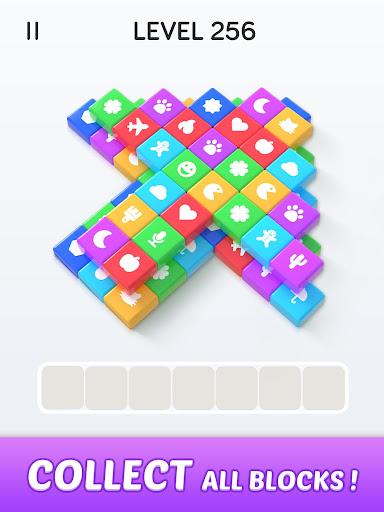 Block Blast 3D : Triple Tiles Matching Puzzle Game apkdebit screenshots 9