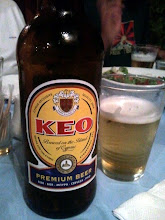 Photo: Keo je časová schránka, která měla být letos vypuštěná do vesmíru, Keo je můj bývalý spolužák a Keo je... Kyperské pivo :).