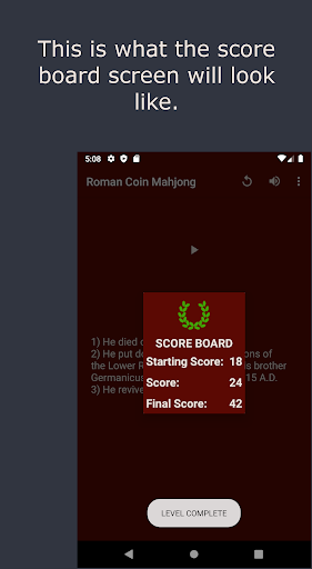 Roman Coin Mahjong Screenshots 4