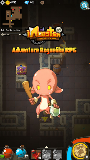 I Monster:Dark Dungeon Roguelike RPG Legends 1.1.15 Cheat screenshots 2