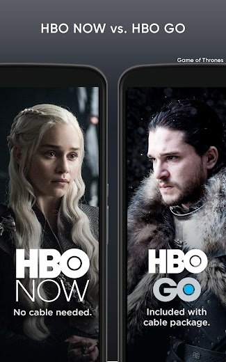 Screenshot 3 for HBO GO's Android app'