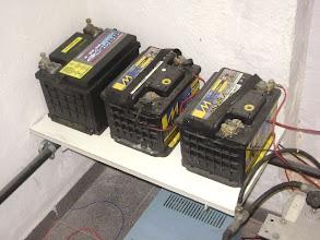 Photo: Baterias em plataforma