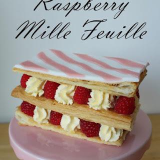 Raspberry Mille Feuille.
