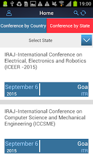 Conference Alerts- screenshot thumbnail