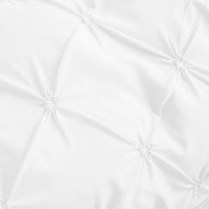 Lenjerie de pat Premium, 6 piese, finet, 200x220 cm, ALB