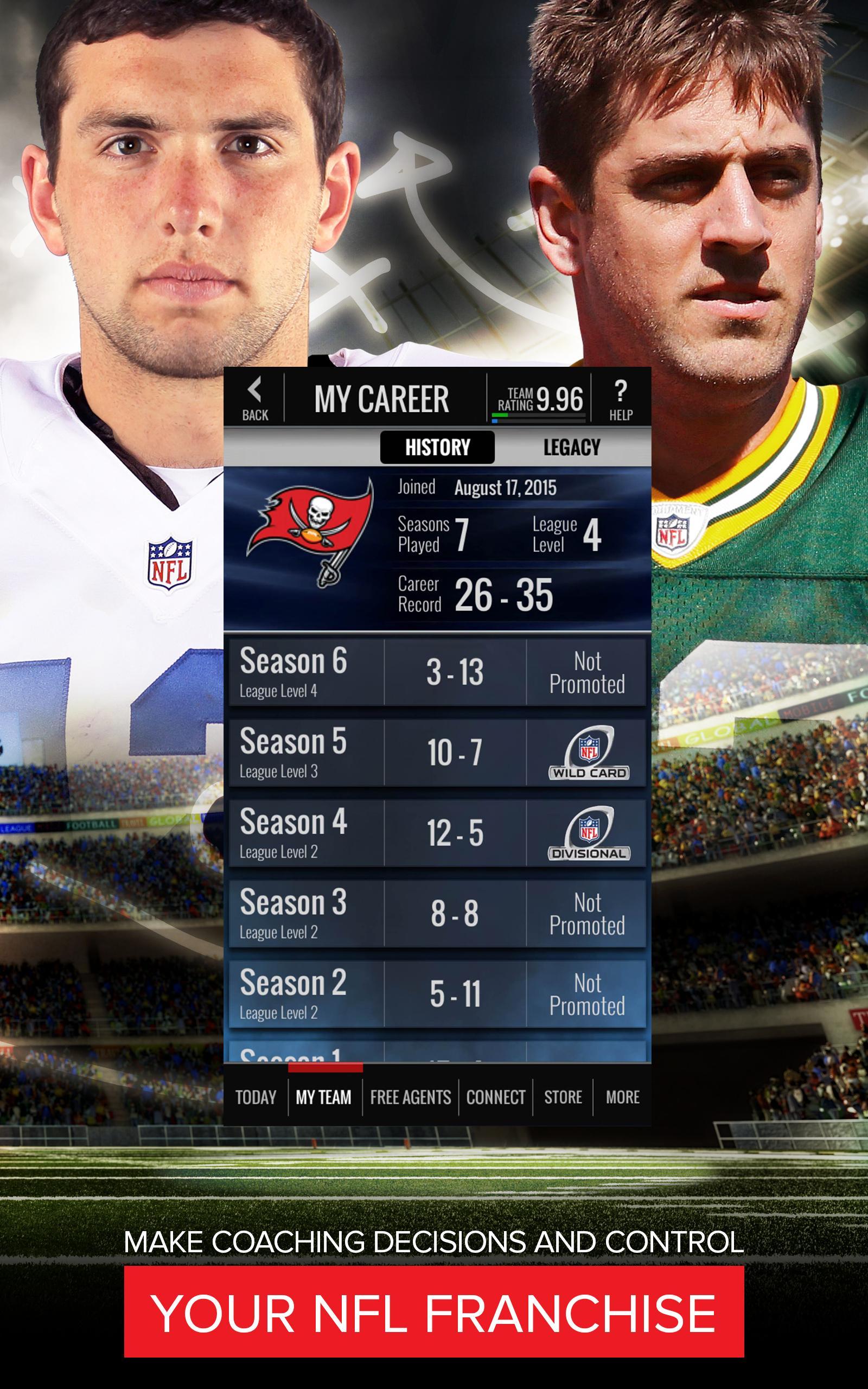 NFL Showdown: Football Manager screenshot #8
