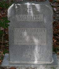 Photo: Lomie Drury aka Saloma Thomas daughter of Riley T Thomas and Emily Thomas/ Wife of William H Dowling and Newton Druary