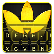Free Download Sports Gold Adidos Keyboard Theme APK for Samsung