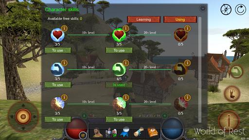 World Of Rest: Online RPG 1.34.2 screenshots 6