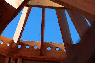 Photo: Not a single manufactured truss in this roof. Gma, you'll love the final product!