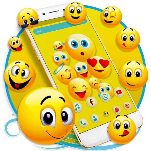 Happy Emoji launcher Theme file APK Free for PC, smart TV Download
