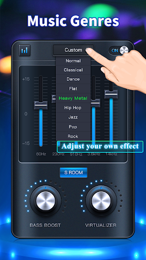 Equalizer: Bass Booster & Volume Booster ss3