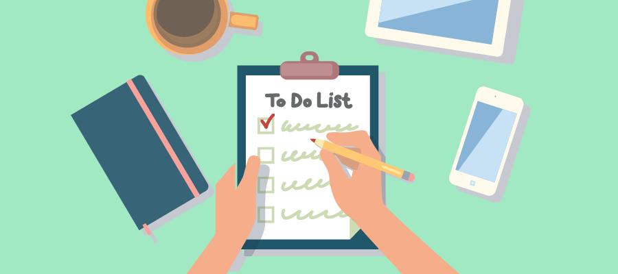 Tip làm việc tại nhà hiệu quả: Lập to do list