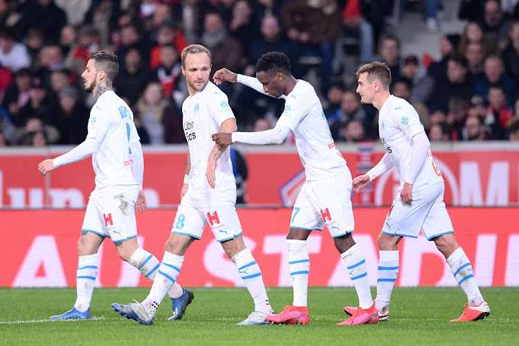 Marseille l'emporte au LOSC et prend le large à la seconde place en Ligue 1