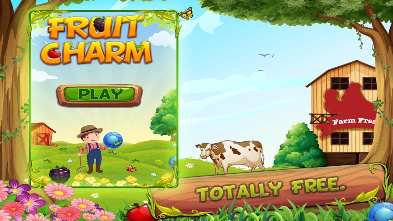 Bubble fruits game - Fruit Charm New Bubble Shooter Screenshot