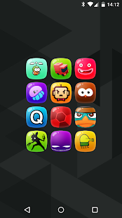 Candy - icon pack - screenshot