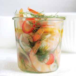 Quick-Pickled Shrimp
