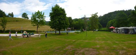 Photo: Náš dočasný domov. Camp kacanovy.