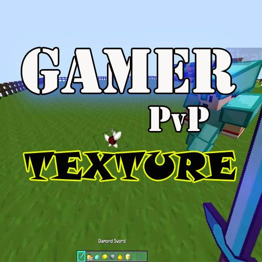 Gamer PvP Texture Pack MCPE