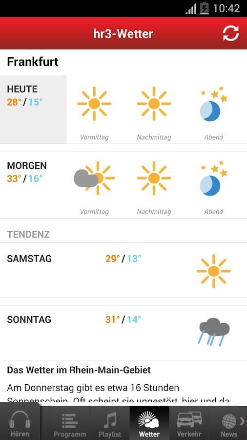Hr3 Wetter App