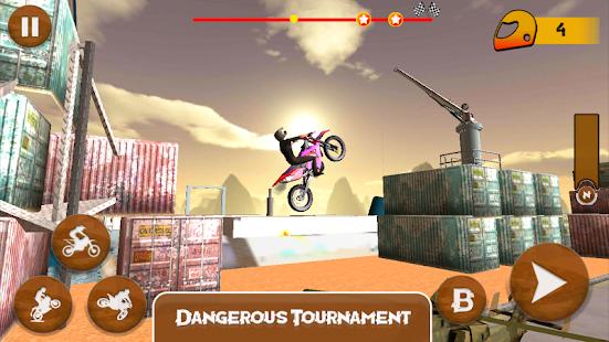 Real Motorbike Racing Stunt Endless Adventure Game - náhled