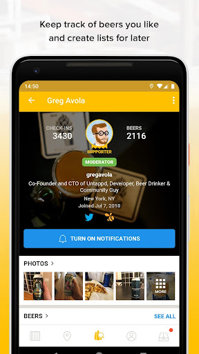 Untappd - Discover Beer screenshot 5