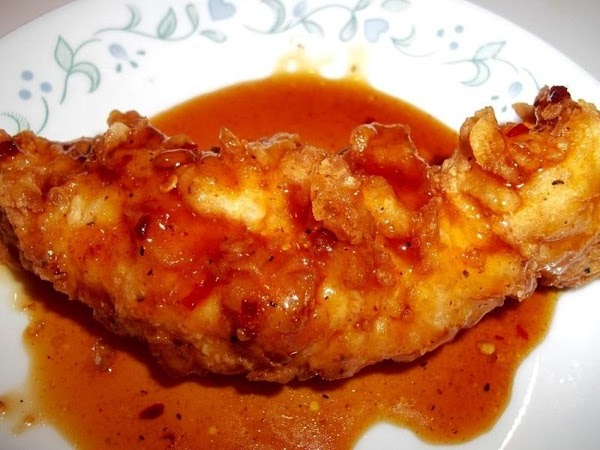 Enjoy these delicious tenders and sauce - they are so very good. The sauce...