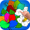 Easy Coloring Paint By Number - Art Work Draw Book icon