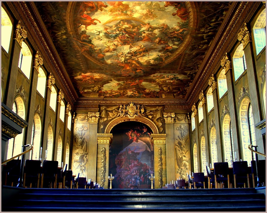 The Painted Chappel Interior by Debiprasad Mishra - Travel Locations Landmarks ( greenwich park, greenwich museum, london buildings, greenwich university, greenwich, building, interior, worship )