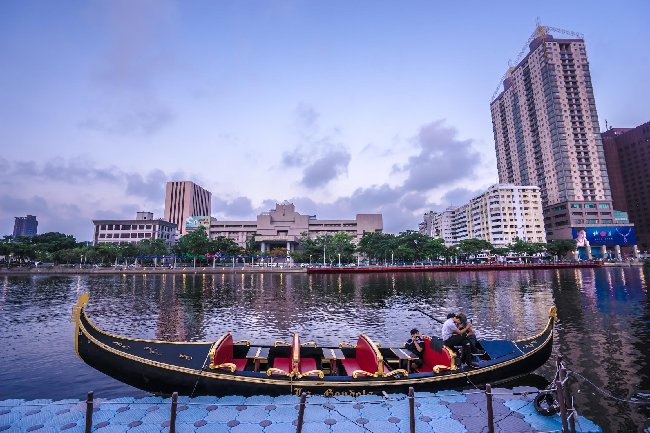 Taiwan Kaohsiung Love River Gondola