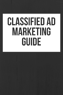 Classified Ad Marketing Guide - náhled