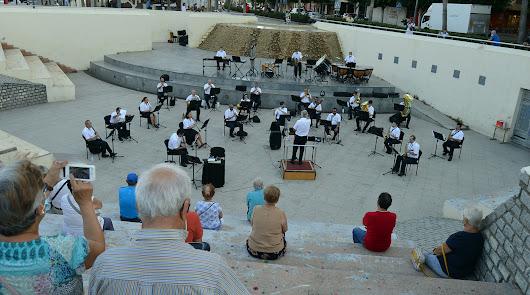 La Banda Municipal actuará mañana en Costacabana y el jueves en Almería