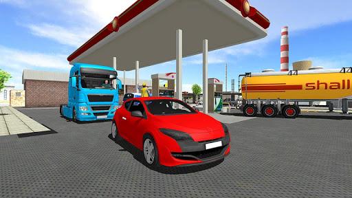 Big Oil Tanker Truck US Oil Tanker Driving Sim screenshots 4